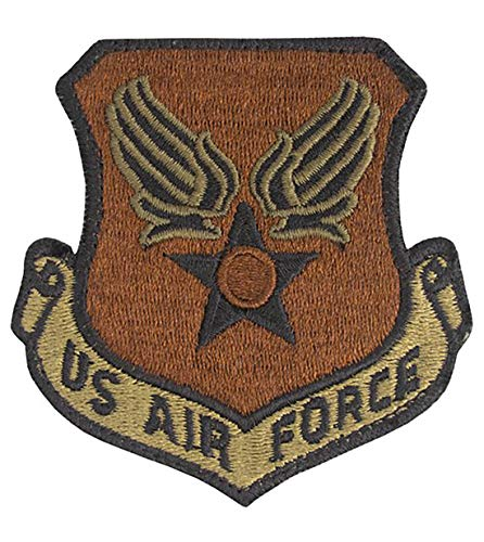 USAF Eagle Wing and Star OCP Spice Brown Patch with Hook Fastener