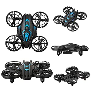 SZJJX APP-RC Drone 2.4 GHz Remote Control FPV Wifi Quadcopter 4CH 6-Axis Gyro Helicopter, Headless Mode, Altitude Hold, with HD Camera Real Time Transmission RTF SJ515 from SZJJX