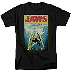 You'll love this cool Jaws art on a comfy tee!