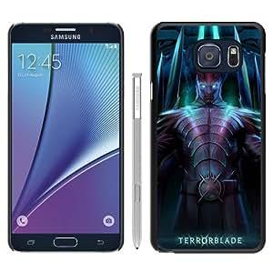 Durable High Quality Terrorblade Dota Demon Marauder Black Samsung Galaxy Note5 Screen Phone Case