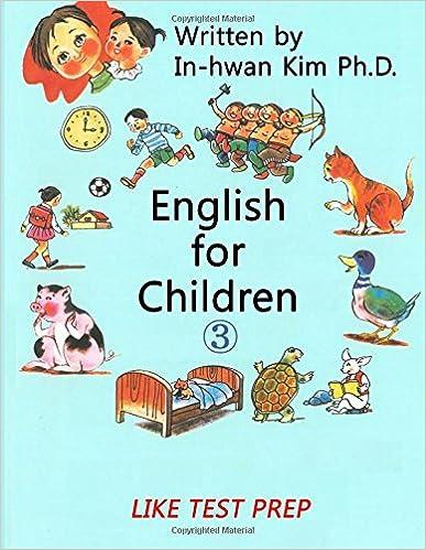 Workbook esl worksheets for adults : English for Children 3: Basic Level English (ESL/EFL) Text Book ...