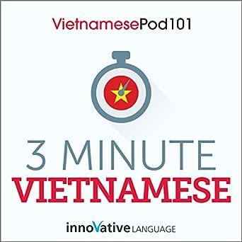 Amazon com: 3-Minute Vietnamese - 25 Lesson Series Audiobook