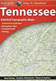 Garmin Delorme Atlas & Gazetteer Paper Maps- Tennessee (010-12665-00)