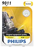 9011 bulb - Philips 9011 HIR Standard Halogen Replacement Headlight Bulb, 1 Pack