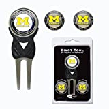 University of Michigan Wolverines 3 Marker Signature Divot Tool Pack