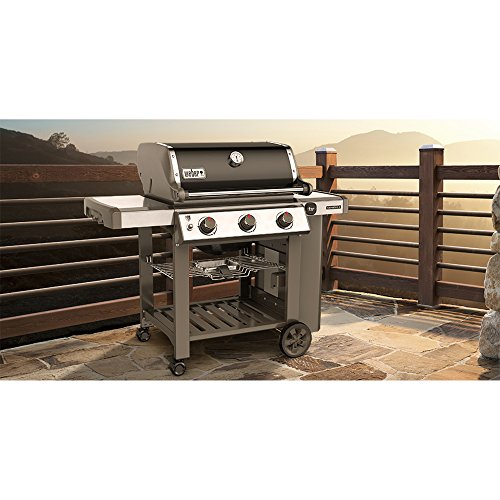 weber 66010001 genesis ii e 310 natural gas grill black gas barbeque reviews. Black Bedroom Furniture Sets. Home Design Ideas