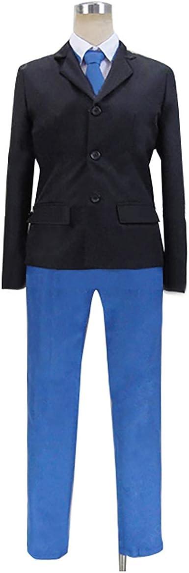 Amazon.com: Absolute Duo Toru Tooru Kokonoe School Uniform Anime Cosplay Costume S002 (Male S) Black: Clothing