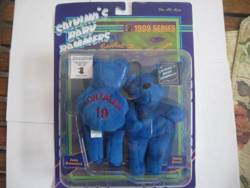 Salvino's Baby Bammers 1999 Series Juan Gonzalez & Rusty Greer