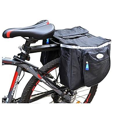 West Biking Bicycle Rack Double-Panniers Bag 25L