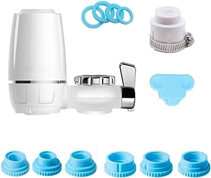Filtro de montaje de grifo, filtro de agua del grifo de la cocina ...