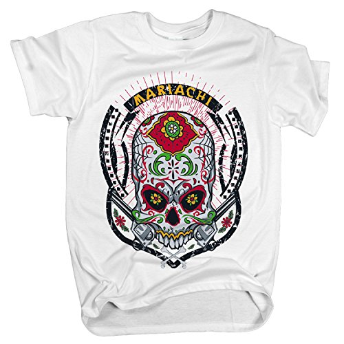 ZDesign Mexikanisches Gangster Casino | Mariachi | T-Shirt | Größe XS-4XL | Ideales Geschenk