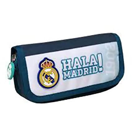 Real Madrid - Estuche escolar con Rabat Hala Real Madrid ...