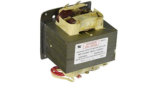 Frigidaire 5304464075 alto voltaje transformador microondas ...