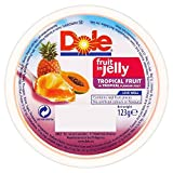 Dole Fruit in Jelly - Tropical Fruit in Tropical Jelly (123g) - Pack of 6