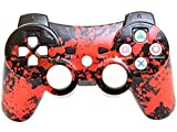 Play Station 3 Controller wired Splatter