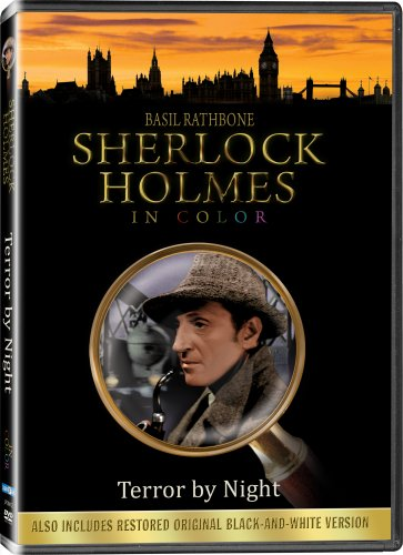 Sherlock Holmes: Terror by Night (Colorized / Black & White) (Night Terrors Dvd)