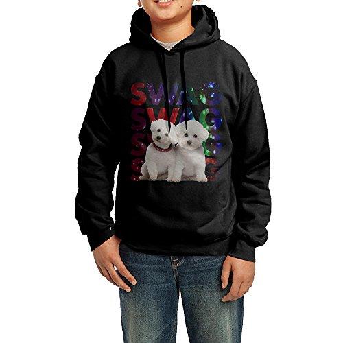 Sandyx Youth SWAG Bichon Frise Boys Girls Hoodies Sweatshirt Size XL US - Sweatshirt Bichon
