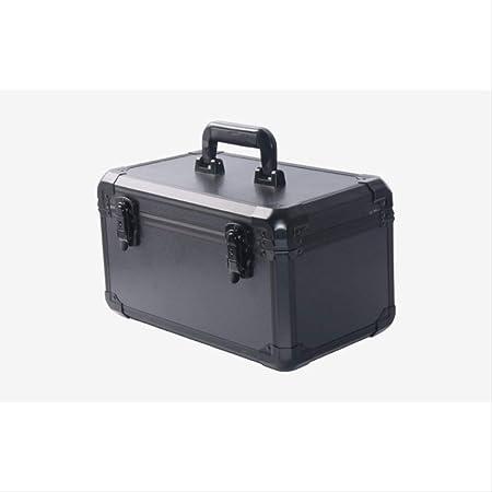 ACRDXF 370X220X210 Mm Caja De Herramientas De Aleación De Aluminio Maleta Portátil Caja De Archivos Caja De Instrumentos Caja De Almacenamiento De Caja De Seguridad Resistente A Los Impactos: Amazon.es: Hogar