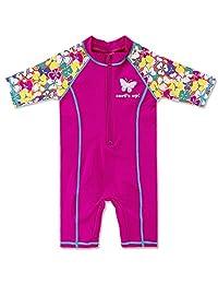 BAOHULU Girls One-piece Swimsuit UPF 50+ UV Protective Swimwear Pink