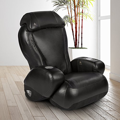 iJoy-2580 Premium Robotic Massage Chair | Cup Holder | Auxiliary Power Outlet | Full Recline | Black Color Option