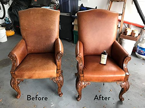 Leather Milk Leather Furniture Conditioner and Cleaner ...