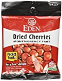 Eden Dried Cherries Pocket Snacks, 1 Ounce (Pack of 48)