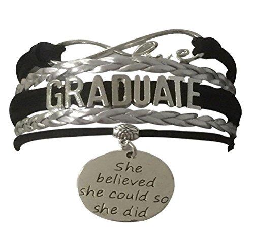 - Infinity Collection Graduation Jewelry, Class of 2018 Graduation Bracelet for Graduates