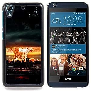 GIFT CHOICE / Teléfono Estuche protector Duro Cáscara Funda Cubierta Caso / Hard Case for HTC Desire 626 // Huge Tornado Hurricane //