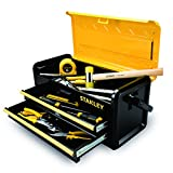 Stanley Tools and Consumer Storage STST19502 Metal Box with 2 Drawers, 19''