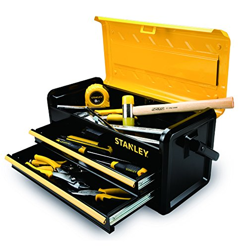 Stanley Tools and Consumer Storage STST19502 Metal Box with 2 Drawers, 19'' by Stanley Tools and Consumer Storage