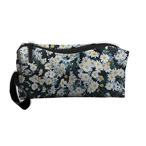 Funky Daisy Floal Travel Cosmetic Bag Tote Pencil Case Pouch Make Up Organizer For (Funky Daisy)