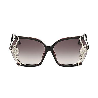 837acae2d5b54 Meijunter Mode grandes lunettes de soleil cadre de la femme de lunettes de  soleil de la