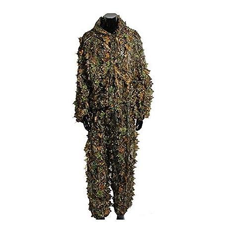 3d camuflaje hojas ropa caza camuflaje Yowie Sniper tiro con arco - traje de Set: Amazon.es: Deportes y aire libre