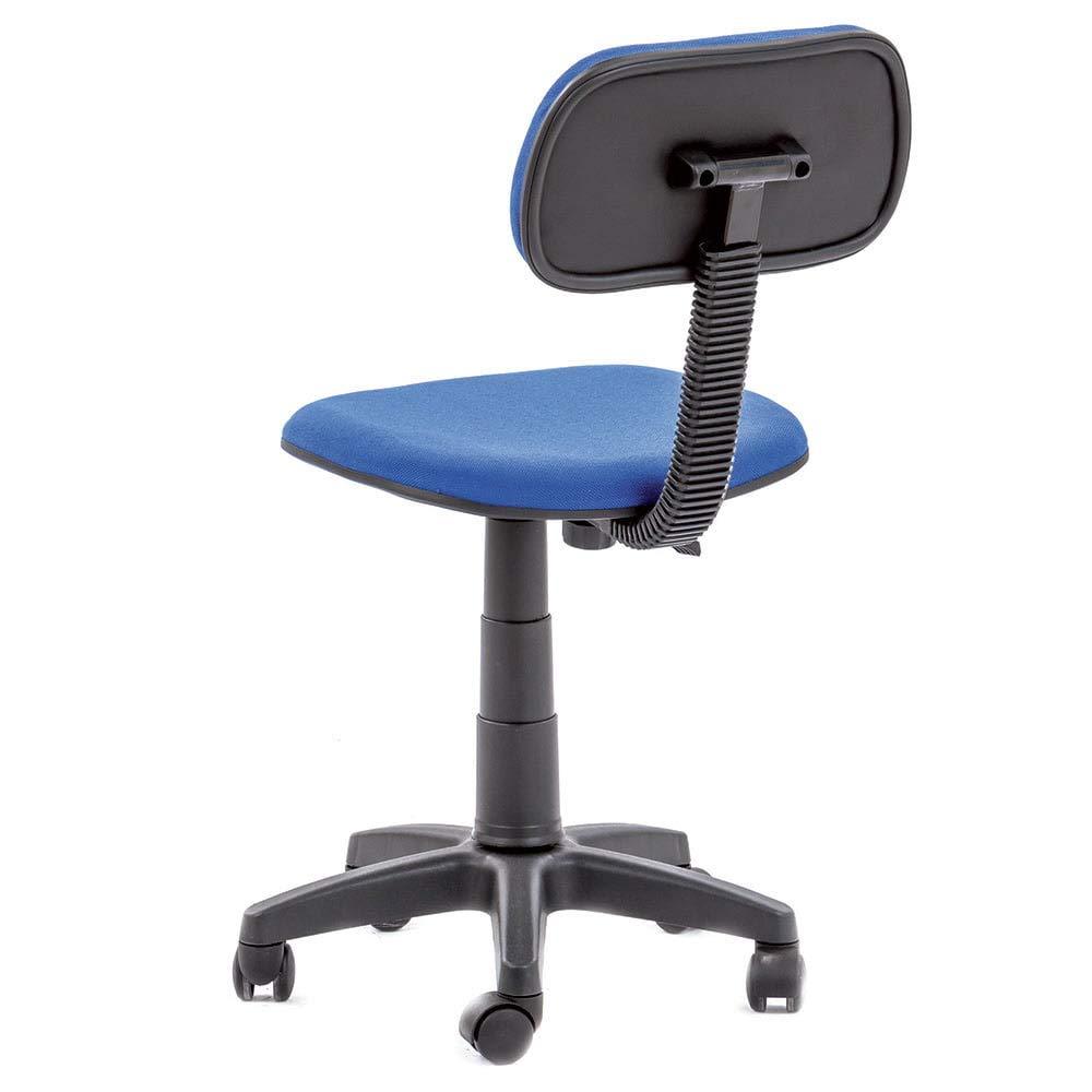 poltrona dattilo rosso sedia girevole per ufficio ruote in ...