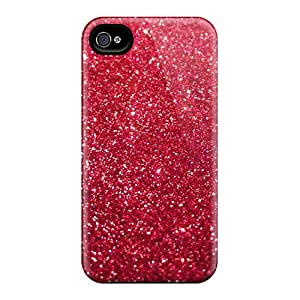 For Iphone 6 Protector Cases Red Glitter Phone Covers