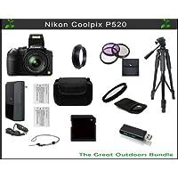 The Nikon Coolpix P520 Great Outdoors Bundle