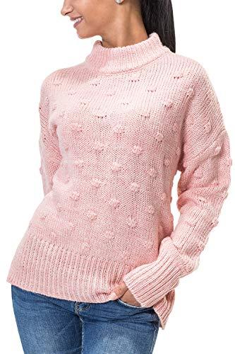 Knit Pieces Ls Femme melange Pcfay BfPull Wool Peachskin H2IWD9EY
