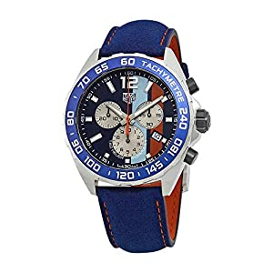 TAG Heuer Formula 1 Gulf Racing Special Edition Watch – CAZ101N.FC8243
