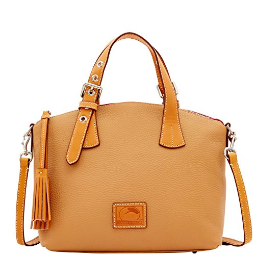Leather Bourke (Dooney & Bourke Patterson Leather Trina Satchel)