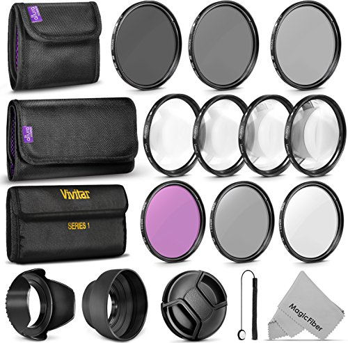 58 mm lense filter kit - 5