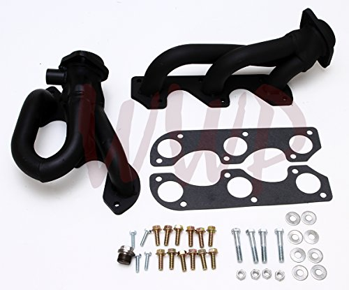Pickup Hooker Gasket Header (Black Performance Exhaust Header Manifold 97-00 Ford Explorer & Ranger Pickup Truck 4.0LOHV Only)
