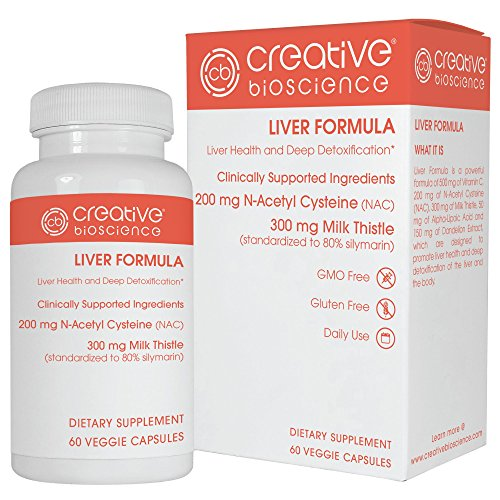 Creative Bioscience Liver Formula, 60 Count by Creative Bioscience