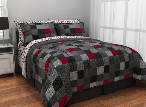 Geo Blocks Complete Bed in a Bag Bedding Set