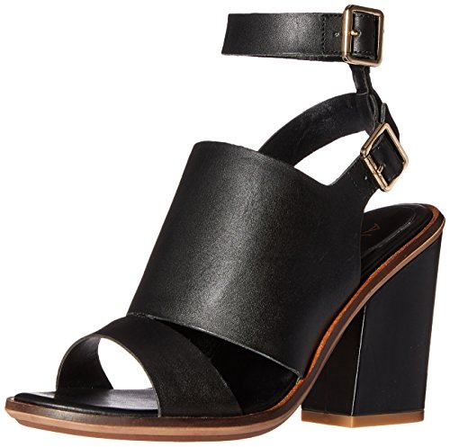 Women Leather Aldo Black Callie Sandal Dress Bx7vdq