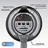 Portable Megaphone Speaker Siren Bullhorn - Compact