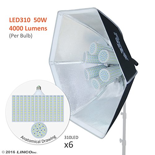 Linco Lincostore Flora LED 1860 Photography Light for Photo,Film,and Video Studio Lighting kit AM148
