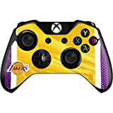 NBA Los Angeles Lakers Xbox One Controller Skin - Los Angeles Lakers Home Jersey Vinyl Decal Skin For Your Xbox One Controller