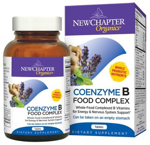 New Chapter Vitamin B Food Complex CoEnzyme Tabs, 180 ct