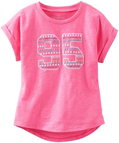 OshKosh B'gosh Little Girls' Graphic Knit Tee (Toddler/Kid) - Pink - 3T