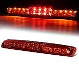 For Silverado/Sierra GMT800 High Mount Dual Row LED 3rd Brake/Cargo Light (Red Lens)